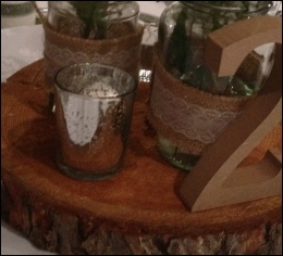 Silver Mercury Tealight Holders to hire | Wedding | Events | Carlisle | Cumbria | Lake District | Gretna | North West
