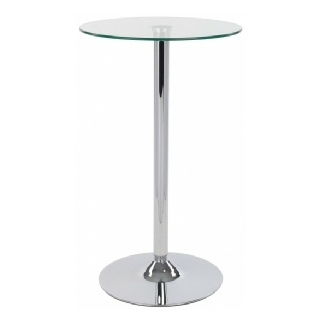 Round Glass & Silver Poseur Table to Hire |  Luxury | Weddings | Events | Carlisle | Cumbria | Lake District | Newcastle
