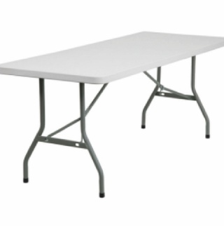 Rectangle Plastic Folding Table - 6ft x 2ft 6in | Wedding | Marquee | Events | Carlisle | Cumbria | Lake District | Newcastle