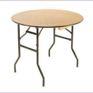 3ft Wood Round Cake Table to Hire | Weddings | Events | Carlisle | Cumbria | Lake District | Newcastle
