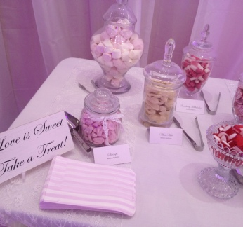 Love is Sweet Sign Included with coordinating sweet bags | Wedding | Birthday | Christening | Carlisle | Cumbria | UK