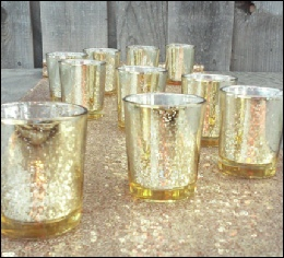 Gold Tealight Holders to hire | Wedding | Events | Carlisle | Cumbria | North West | Lake District | Gretna | Dumfries