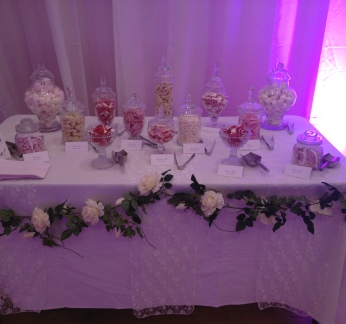 Vintage Lace Sweet Buffet Table | Wedding & Events | Carlisle | Cumbria | UK