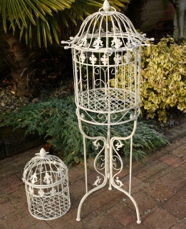Floor Standing Bird Cage to Hire | Weddings | Post Box | Cumbria | Newcastle | Carlisle | North West | East