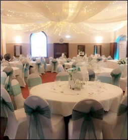 Fairy Light Canopy with Drapes | Hire | Wedding & Events | Carlisle | Castle Inn Hotel, Cumbria | Lake District | Armathwaite Hall