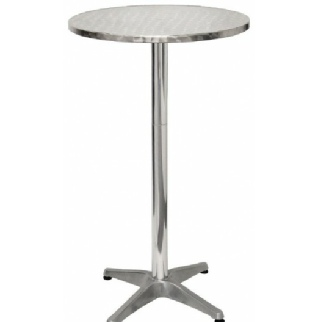 Outdoor/Indoor Aluminium Poseur Table to Hire | Weddings | Events | Carlisle | Cumbria | Lake District | Newcastle